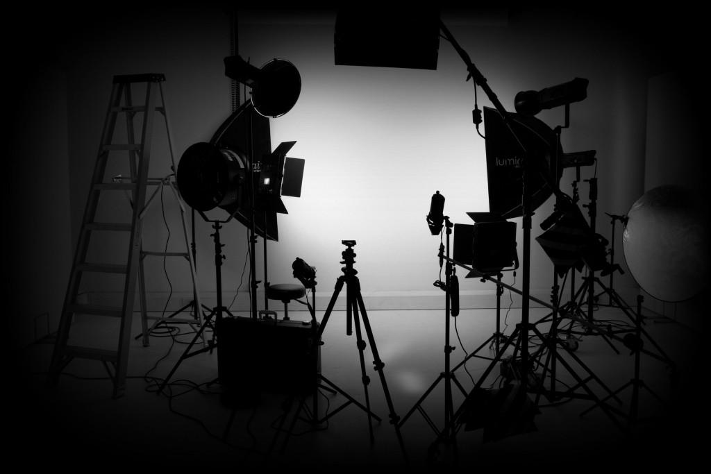 West London Studio - Lighting BW